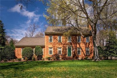Williamsburg Single Family Home For Sale: 116 Captaine Graves