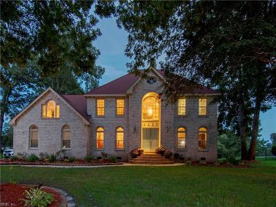 Chesapeake Single Family Home New Listing: 1032 Smokey Mountain Trl