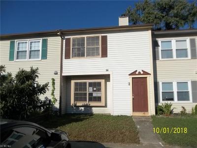 Virginia Beach VA Single Family Home New Listing: $109,900