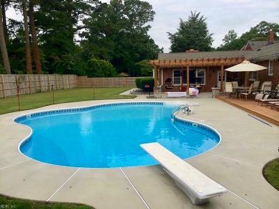 Virginia Beach Single Family Home New Listing: 5217 Shore Dr