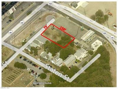Norfolk Residential Lots & Land For Sale: 9610-4 4th View St