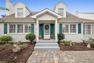 Virginia Beach VA Single Family Home New Listing: $1,799,000