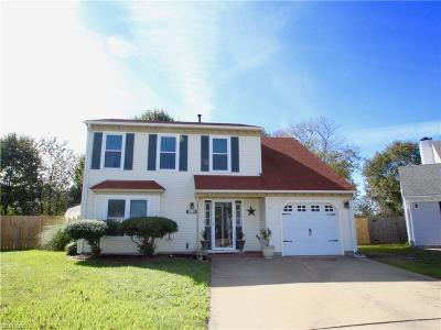 Virginia Beach Single Family Home New Listing: 1093 Tolstoy Ct