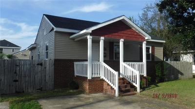 Portsmouth Single Family Home New Listing: 3232 Knox St