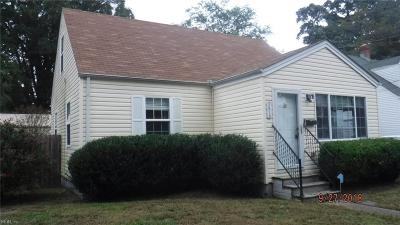 Portsmouth Single Family Home New Listing: 3410 Brighton St