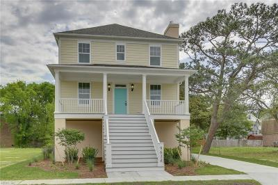 Norfolk Single Family Home New Listing: 9614 7th Bay St