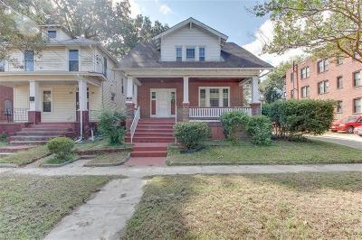 Norfolk Single Family Home New Listing: 523 W 37th St