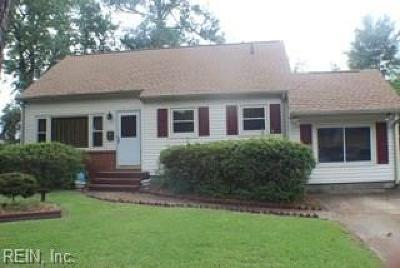 Norfolk Single Family Home New Listing: 1029 Georgetown Rd