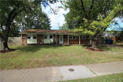 Virginia Beach Single Family Home New Listing: 157 Cheyenne Rd