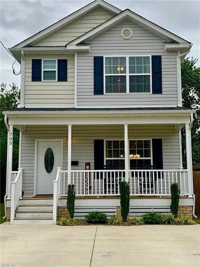 Hampton Single Family Home New Listing: 703 Langley Ave