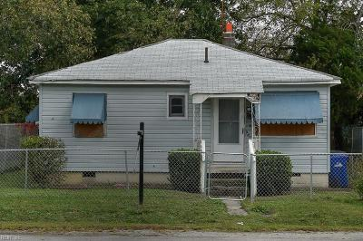 Portsmouth Single Family Home New Listing: 2803 Columbus Ave