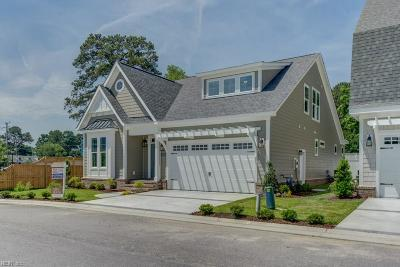 Virginia Beach Single Family Home New Listing: Mm Cambridge At Bayville At Lake Joyce