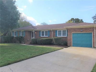 Virginia Beach Single Family Home New Listing: 5880 Shetland Ct