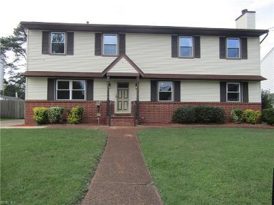 Hampton Single Family Home New Listing: 407 Patrician Dr