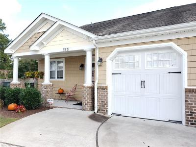 Chesapeake Single Family Home New Listing: 3931 Rex Cir