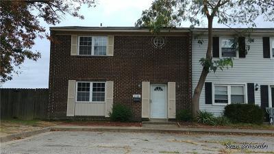 Virginia Beach Single Family Home New Listing: 4528 Notre Dame Ct