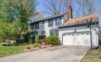 Virginia Beach Single Family Home New Listing: 5152 Eagle Run Rd