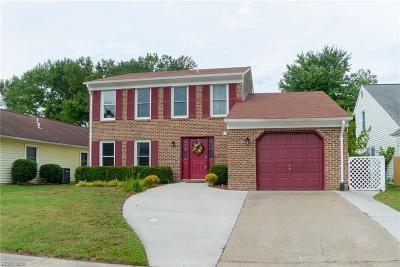 Chesapeake Single Family Home New Listing: 2222 Logans Mill Trl