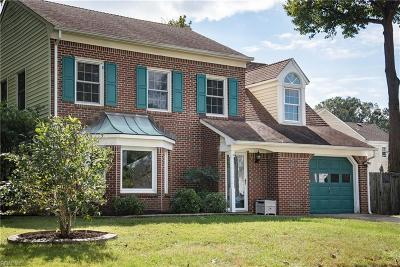 Virginia Beach Single Family Home New Listing: 5609 Tendril Last