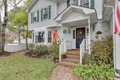 Chesapeake Single Family Home New Listing: 404 Brougham Ct