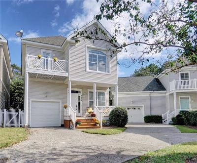 Virginia Beach Single Family Home New Listing: 3804 Long Ship Ct #20