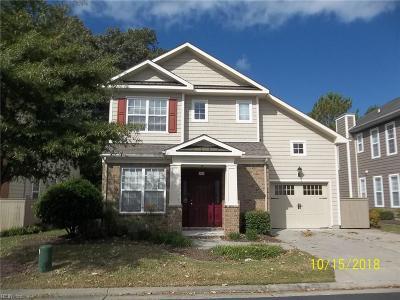Chesapeake Single Family Home New Listing: 442 Blue Beech Way