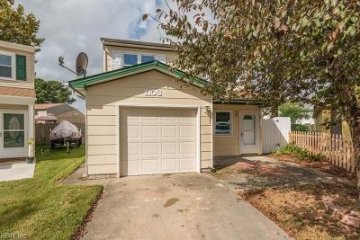 Virginia Beach Single Family Home New Listing: 1103 Rebel Run Ct