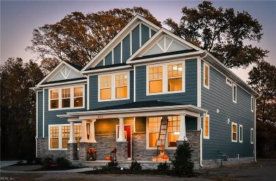 Yorktown Single Family Home New Listing: 300 B Holly Point Rd