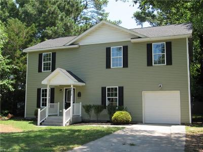 Norfolk Single Family Home New Listing: 8012 Simons Dr