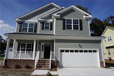 Chesapeake Single Family Home New Listing: 1984 Beechwood Dr