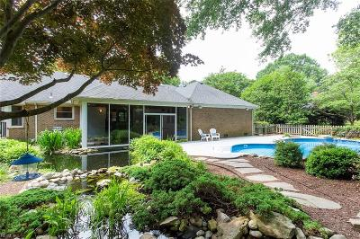 Virginia Beach Single Family Home New Listing: 1714 Valhalla Arch