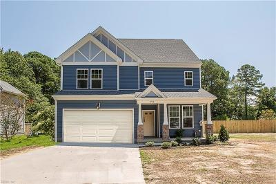 Newport News Single Family Home New Listing: 122 Lucas Creek Rd