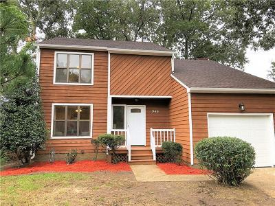 Newport News Single Family Home New Listing: 940 Jouett Dr