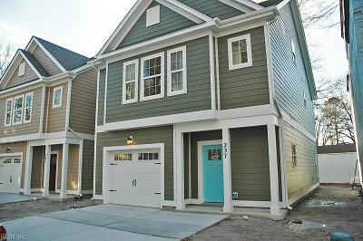 Virginia Beach Single Family Home New Listing: Mm Key West @ Enclave