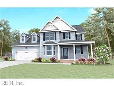 Chesapeake Single Family Home New Listing: Mm Jackson At Ida Gardens