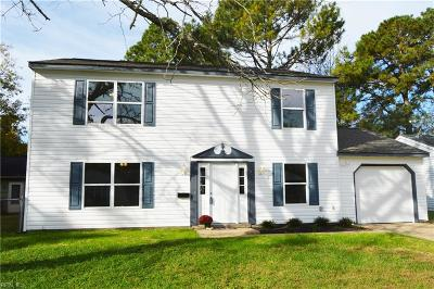 Newport News Single Family Home New Listing: 771 Darden Dr