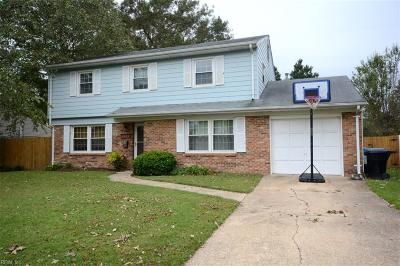 Virginia Beach VA Single Family Home New Listing: $259,900