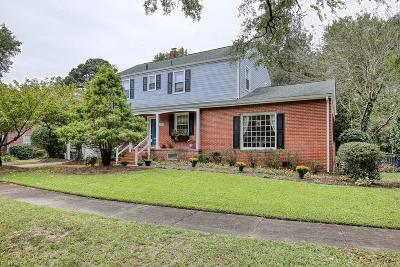 Norfolk Single Family Home New Listing: 207 Glen Echo Dr