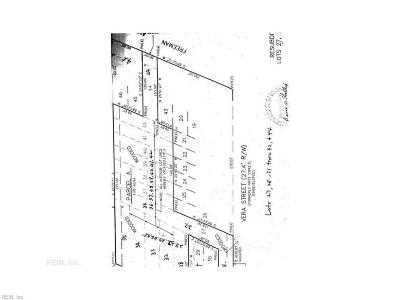 Chesapeake Residential Lots & Land For Sale: 211 Freeman Ave