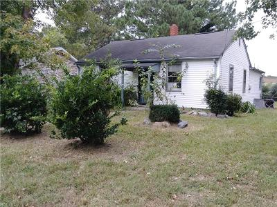 Hampton Single Family Home New Listing: 2819 Ryland Rd