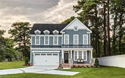 Virginia Beach Single Family Home New Listing: Mm New Castle At Bayville At Lake Joyce