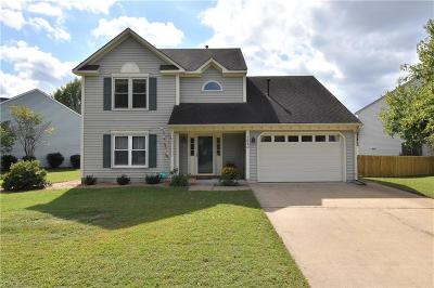 Virginia Beach Single Family Home New Listing: 1860 Burwillow Dr