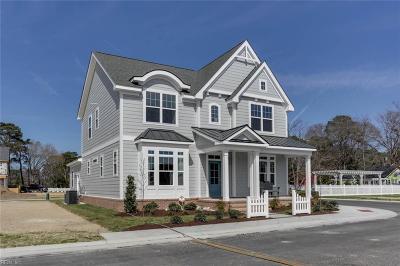 Virginia Beach Single Family Home New Listing: Mm Bar Harbor A At Bayville At Lake Joyce