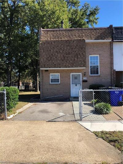 Norfolk VA Single Family Home New Listing: $104,900