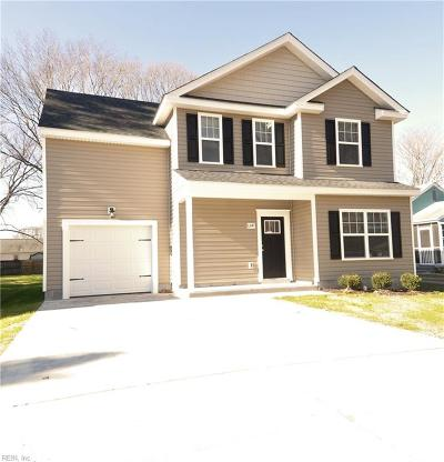 Chesapeake Single Family Home New Listing: 1347 Linden Ave