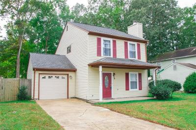 Newport News Single Family Home New Listing: 470 Wyn Dr