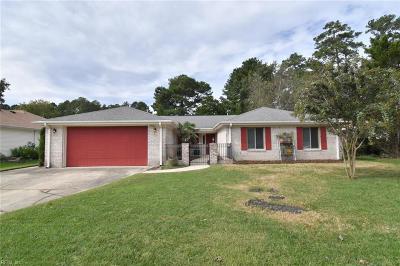 Virginia Beach Single Family Home New Listing: 2433 Pitchfork Way