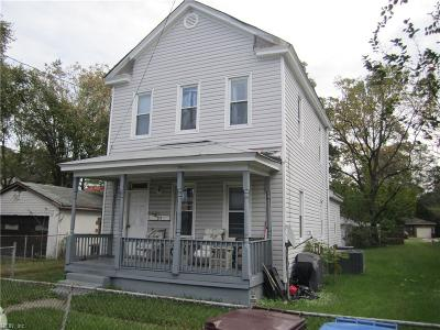 Chesapeake Multi Family Home For Sale: 611 Lafayette Ave