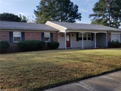 Chesapeake Single Family Home New Listing: 3313 Guenevere Dr