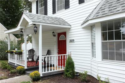 Virginia Beach VA Single Family Home New Listing: $264,900